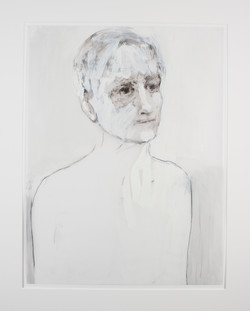 Man with White - sold