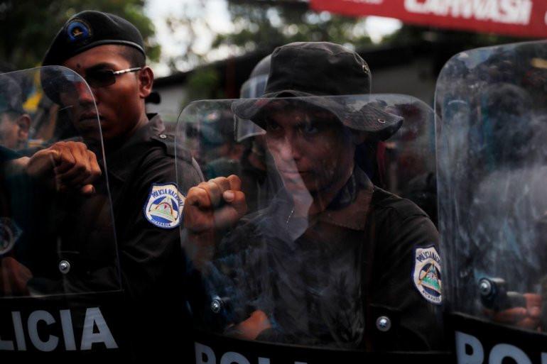 La Policía se ha convertido en el brazo represor de Ortega - Fotografía cortesía