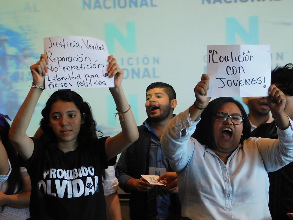 El 25 de febrero de 2020 se llevo a cabo el primer lanzamiento de la Coalición Nacional - Fotografía de Coyuntura por Deedrik Flores