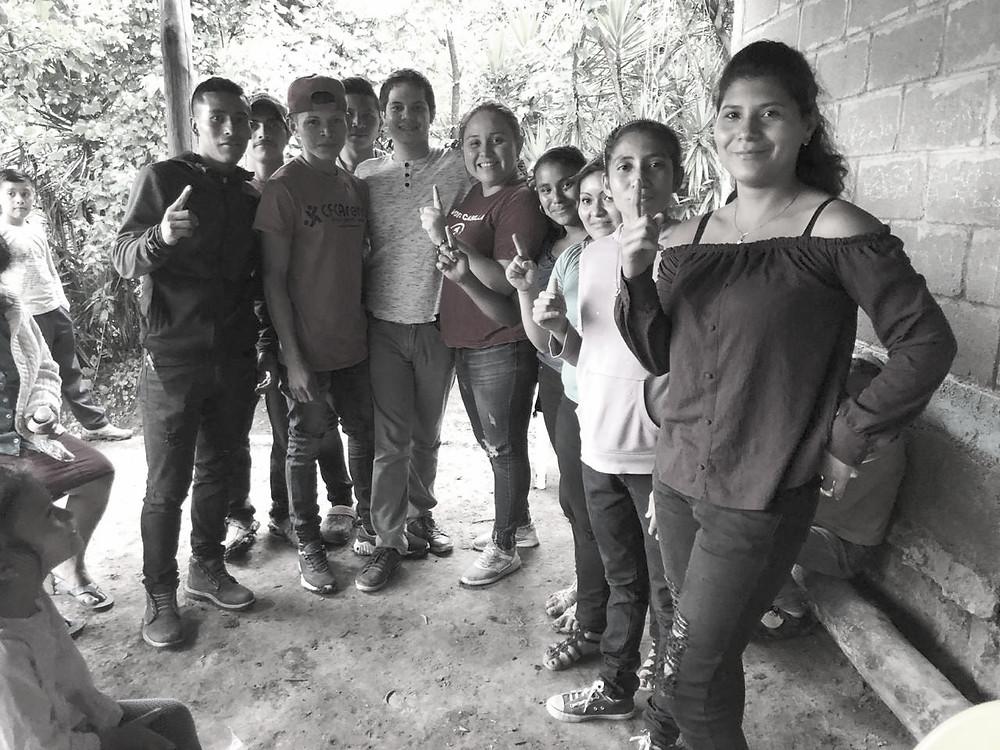 Sofía Gadea se ha comprometido a resaltar la participación del sector joven campesino de su partido en todo el país - Fotografía cortesía