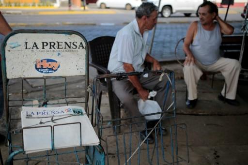 La Prensa redujo su contenido a 4 páginas y se imprime en papel bond - Fotografía de La Prensa.