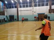 Тренировка старшей группы по футболу. СК п. Молодёжный