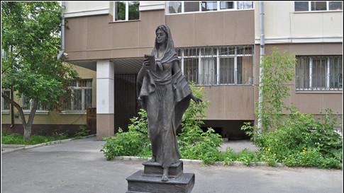 Памятник Святой Татьяны город Тюмень