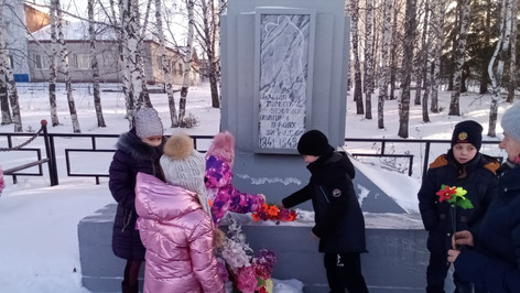 День Неизвестного солдата с. Малиновка