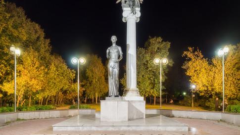пямятник Святой Татьяны город Томск