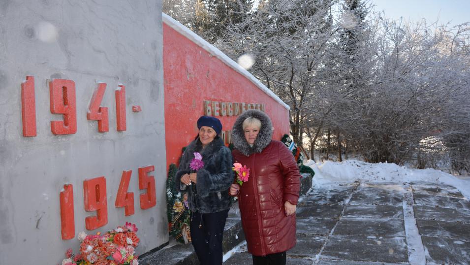 День Неизвестного солдата. Шарова Г.В. и Подсевалова С.В.