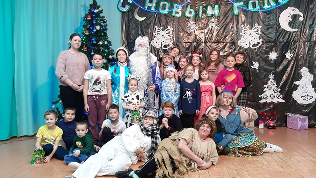 """Новогоднее представление """"В гостях у Яги"""""""