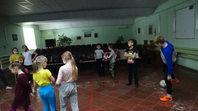 День футбола в СДК с. Малиновка