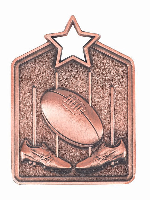 Aussie Rules Shield Medal