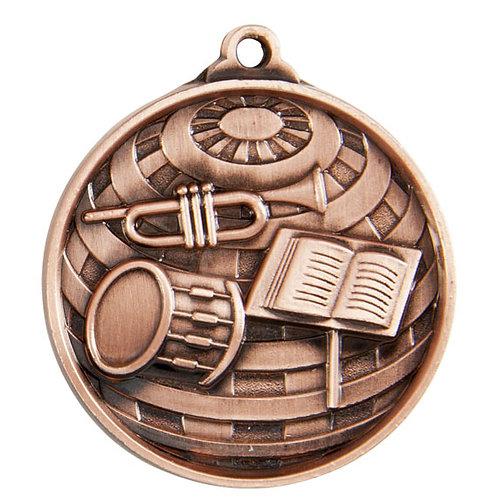 Band Globe Medal