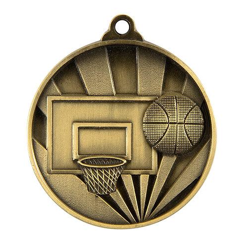 Basketball Rise Medal