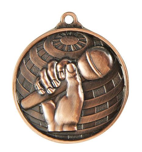 Microphone Globe Medal