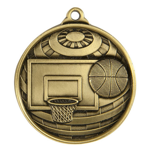 Basketball Globe Medal