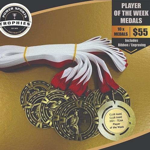 10 x League Medal