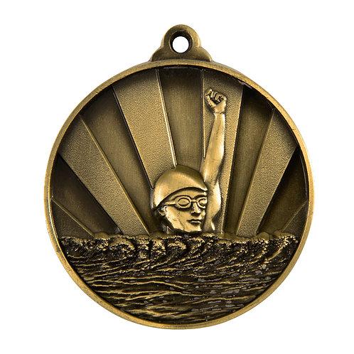 Swimming Rise Medal