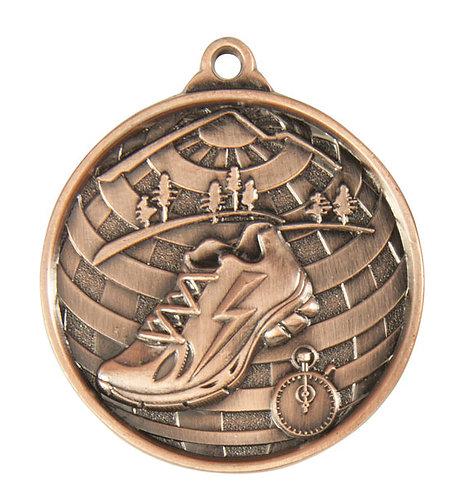 Cross Country Globe Medal