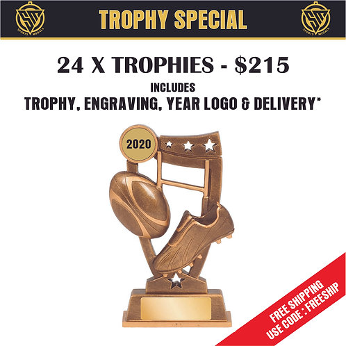 24 x Rugby League Trophy