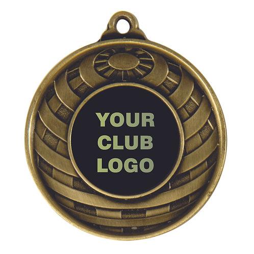 Globe Generic Logo Medal