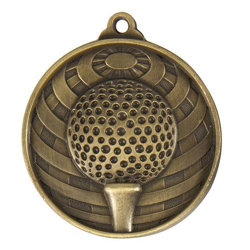 Golf Globe Medal