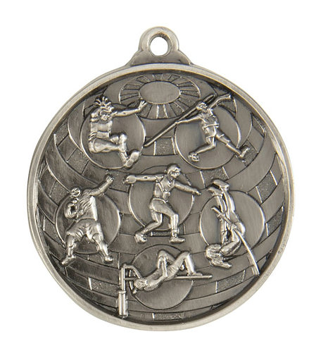 Track & Field Globe Medal
