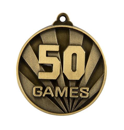 50 Games Medal