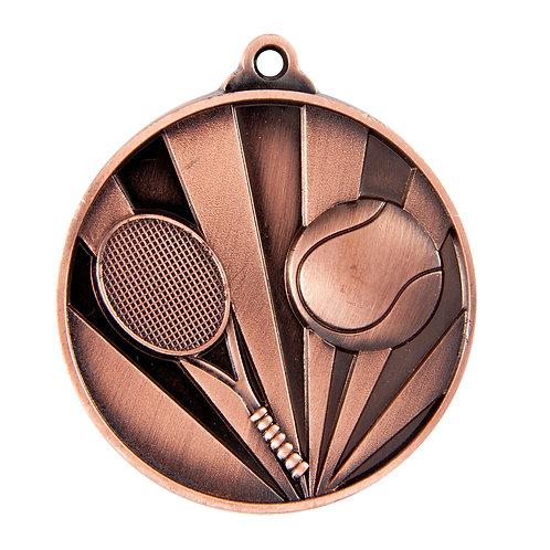 Tennis Rise Medal