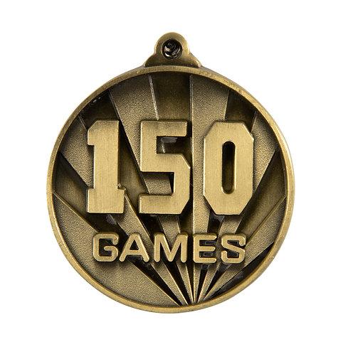 150 Games Medal
