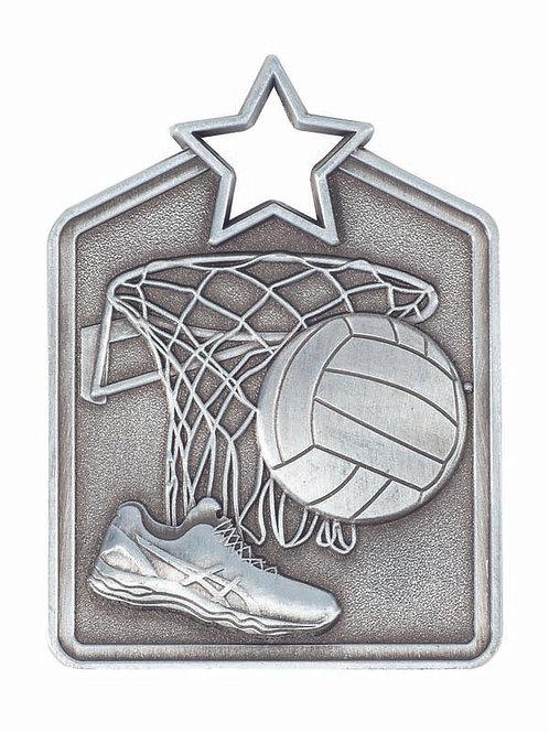 Netball Shield Medal