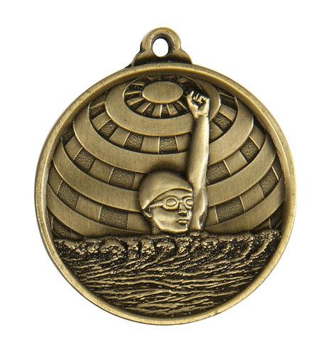 Swimming Globe Medal
