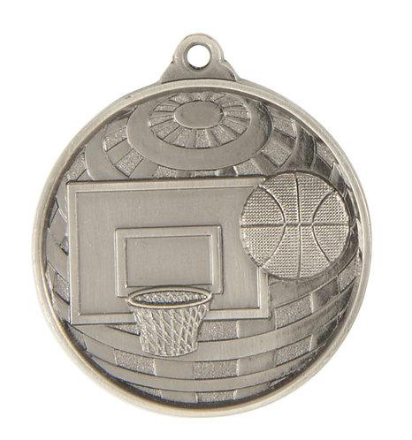 Basketball Globe Medal