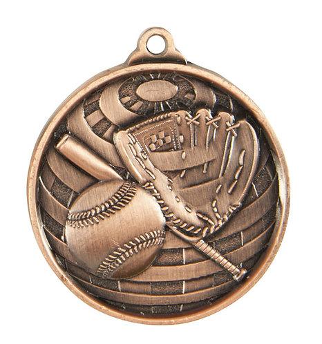 Baseball Globe Medal
