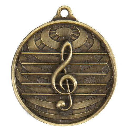 Music Globe Medal