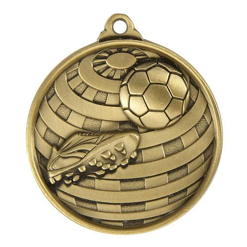 Soccer Globe Medal