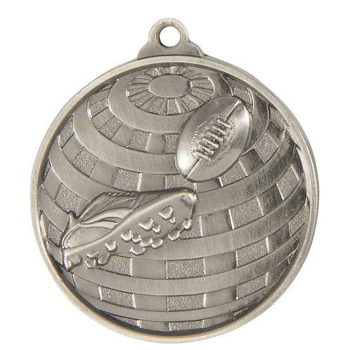 Aussie Rules Globe Medal