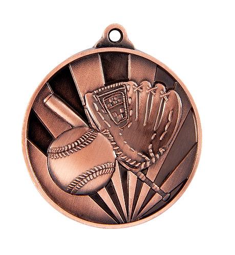 Baseball Rise Medal