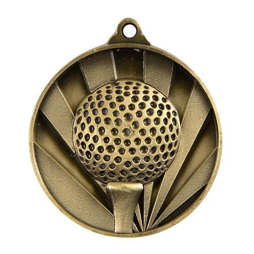 Golf Rise Medal