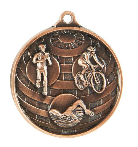 Tri Globe Medal