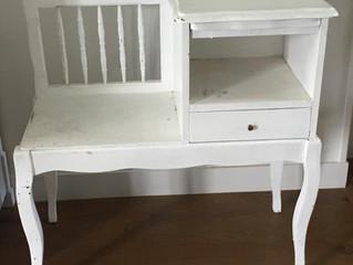 Relooking de petit meuble d'entrée