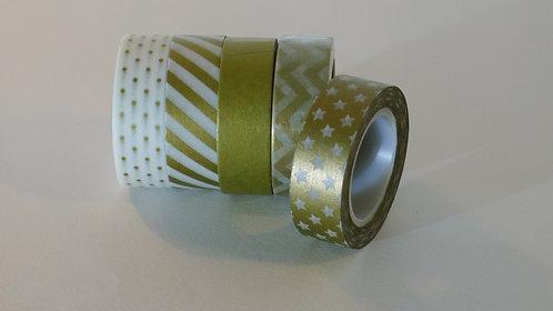 Masking Tape Gold