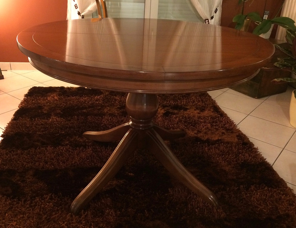 Table de salon avant relooking