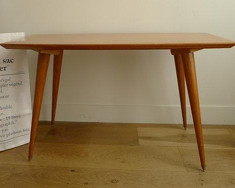 Petite table vintage vernie