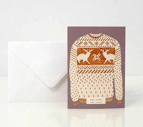 Carte My pull-over / Best wishes