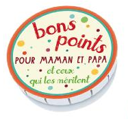 Bons points pour Maman et Papa - Confettis