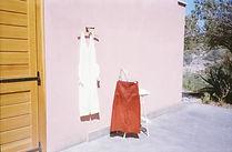 Araw brand womenswear linen jumpsuit skirt