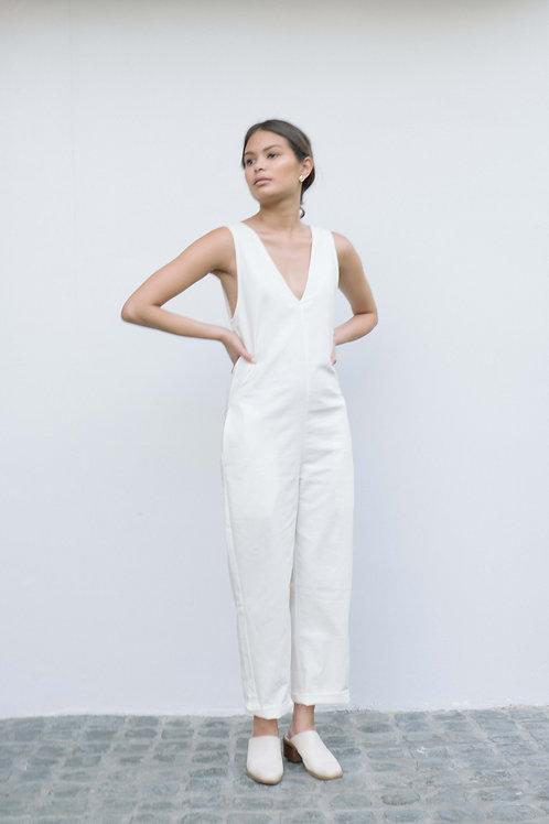 Painter Jumpsuit White (pre-order)