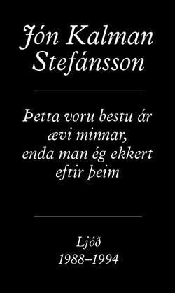 Stefánsson's poetry