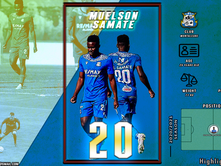 Muelson Samate - Highlights Video (2020/2021 Season - Coming Soon)
