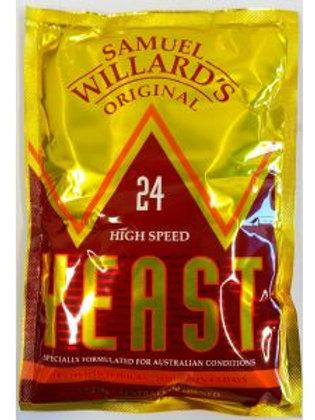 Samuel Willards 24hr Turbo Yeast