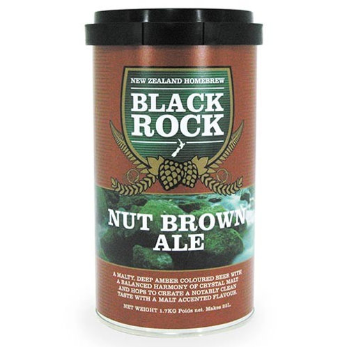 Black Rock Nut Brown Ale 1.7 kg
