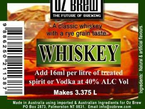 Oz Brew - Whiskey 50ml